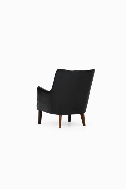 Arne Vodder Easy Chairs by Ivan Schlechter in Denmark 8