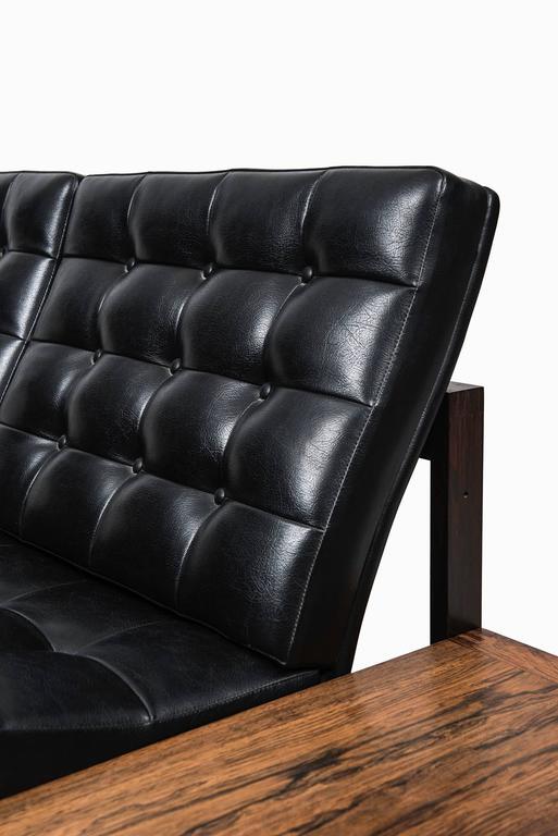 Scandinavian Modern Ole Gjerløv-Knudsen & Torben Lind Seating Group/Sofa Model 175/Moduline For Sale