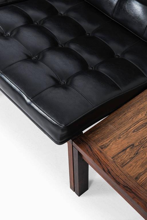Leather Ole Gjerløv-Knudsen & Torben Lind Seating Group/Sofa Model 175/Moduline For Sale