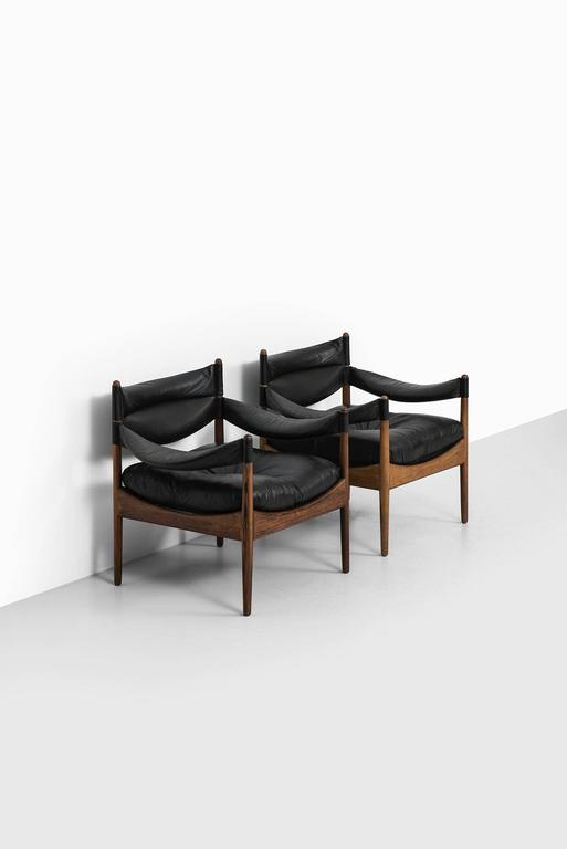 Kristian Solmer Vedel Easy Chairs Model Modus by Søren Willadsen in Denmark For Sale 2