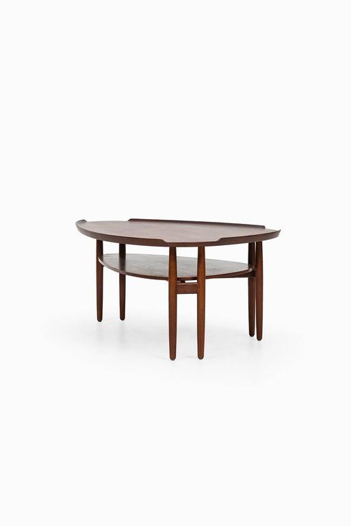 Arne Vodder Coffee Table in Teak Produced in Denmark 4