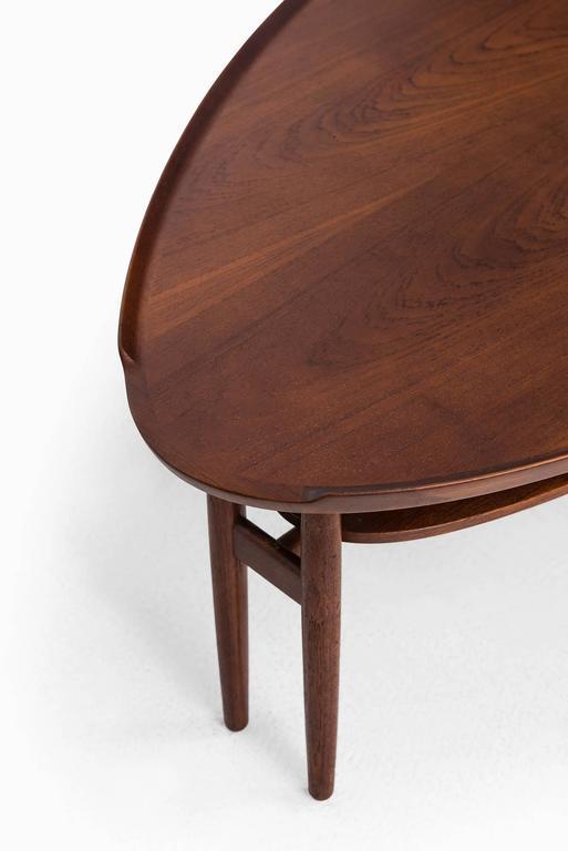 Arne Vodder Coffee Table in Teak Produced in Denmark 3
