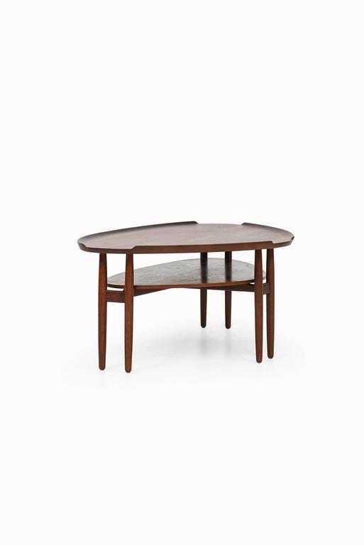 Arne Vodder Coffee Table in Teak Produced in Denmark 7