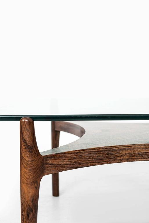 Sven Ellekær Coffee Table by Chr. Linneberg Møbelfabrik in Denmark 5