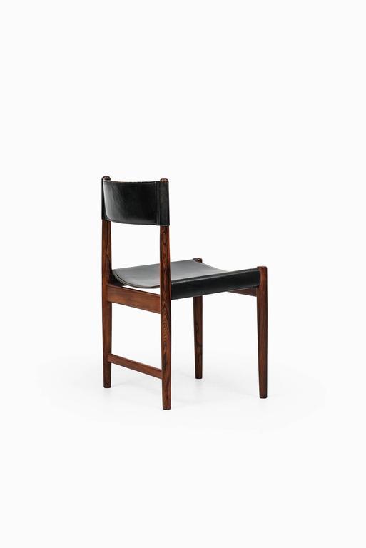 Scandinavian Modern Kurt Ostervig Dining Chairs by Sibast in Denmark For Sale