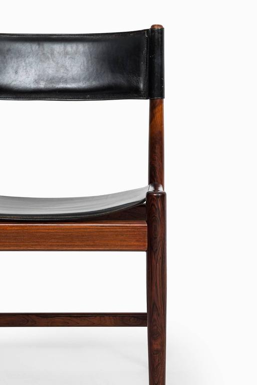 Mid-20th Century Kurt Ostervig Dining Chairs by Sibast in Denmark For Sale
