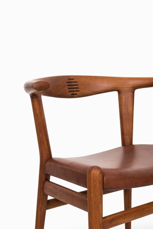 Hans Wegner Bullhorn Chair Model JH518 by Johannes Hansen in Denmark 1