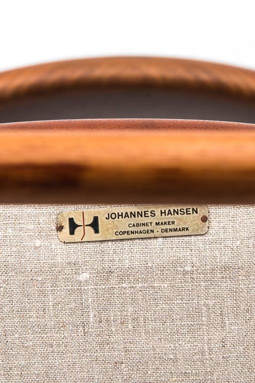 Hans Wegner Bullhorn Chair Model JH518 by Johannes Hansen in Denmark 2