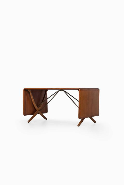 Danish Hans Wegner Dining Table Model AT-304 by Andreas Tuck in Denmark For Sale