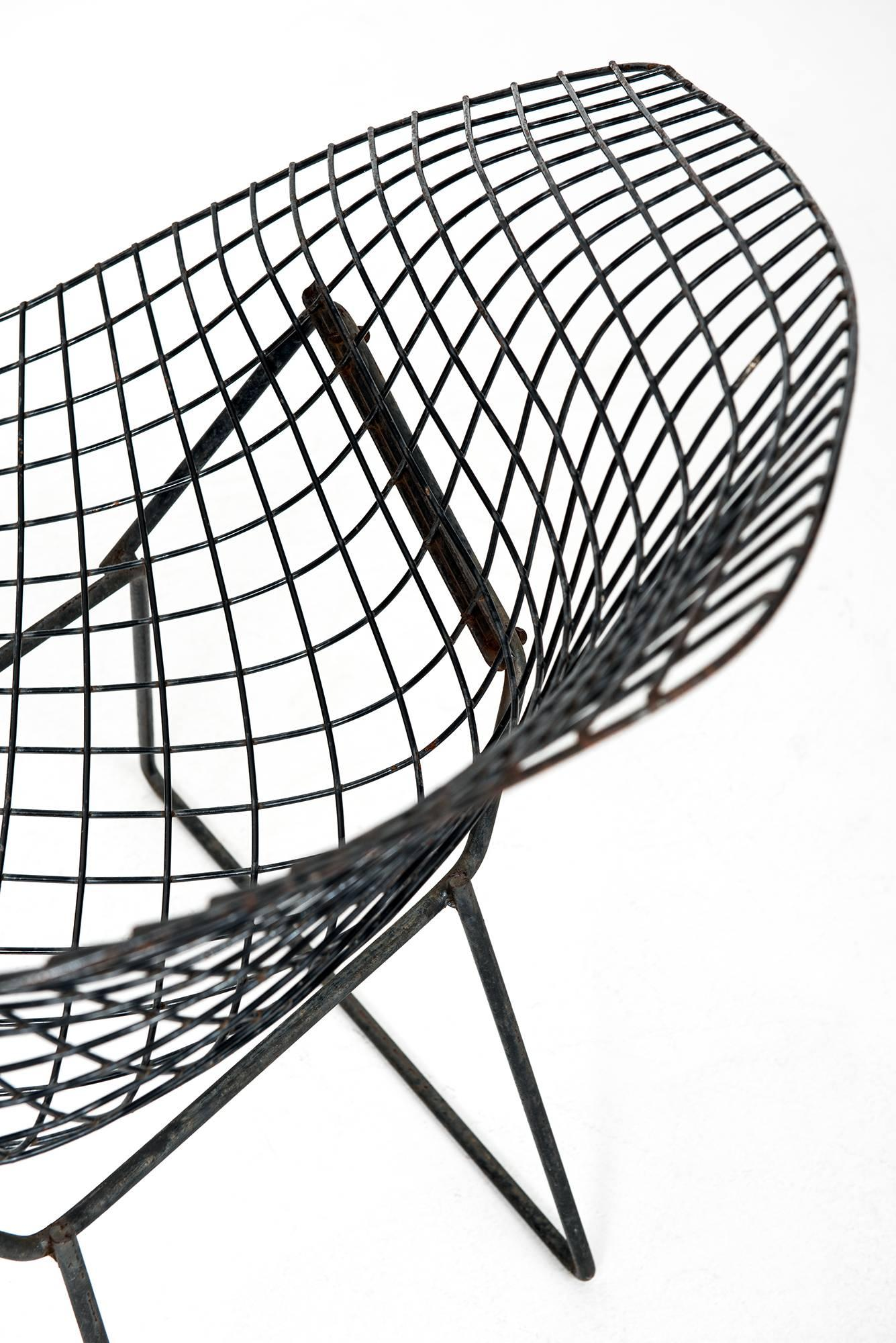 harry bertoia diamond easy chairs by knoll in america for sale at  harry bertoia diamond easy chairs by knoll in america for sale at 1stdibs
