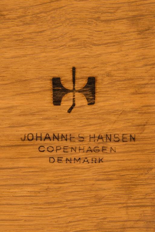 Hans Wegner Desk Model JH-571 by Johannes Hansen in Denmark 10