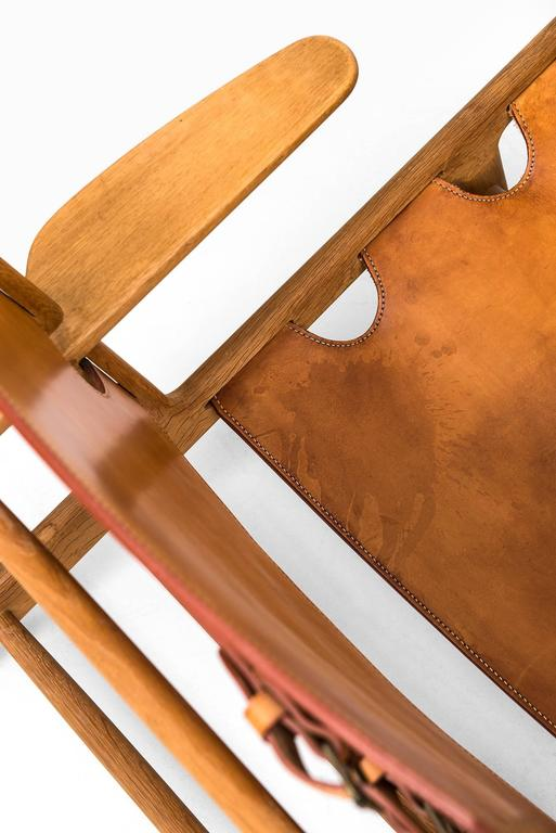 Børge Mogensen Hunting Easy Chairs by Fredericia Stolefabrik in Denmark For Sale 3