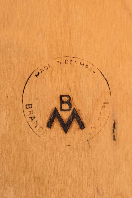 Henry Rosengren Hansen Dining Chairs Model 39 by Brande Møbelfabrik in Denmark For Sale 3