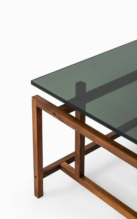 Mid-20th Century Henning Nørgaard Coffee Table by Komfort Møbler in Denmark For Sale