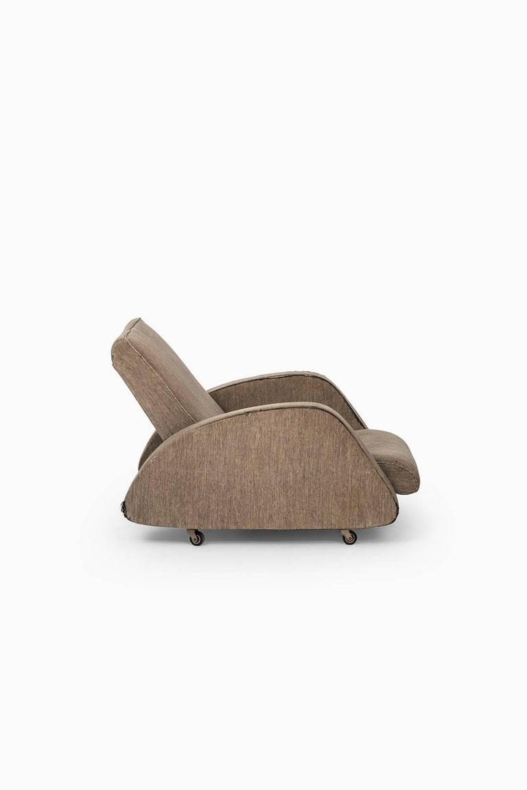 Scandinavian Modern Bo Wretling Easy Chair by Otto Wretling in Sweden For Sale