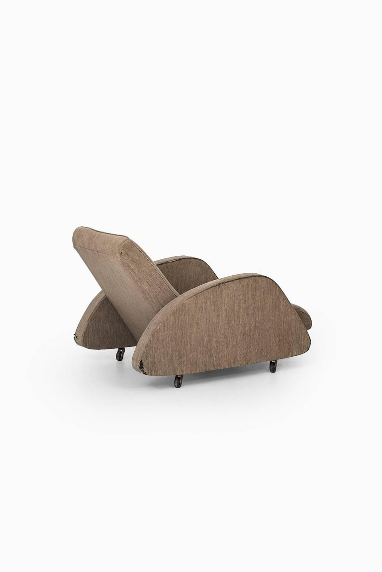 Swedish Bo Wretling Easy Chair by Otto Wretling in Sweden For Sale