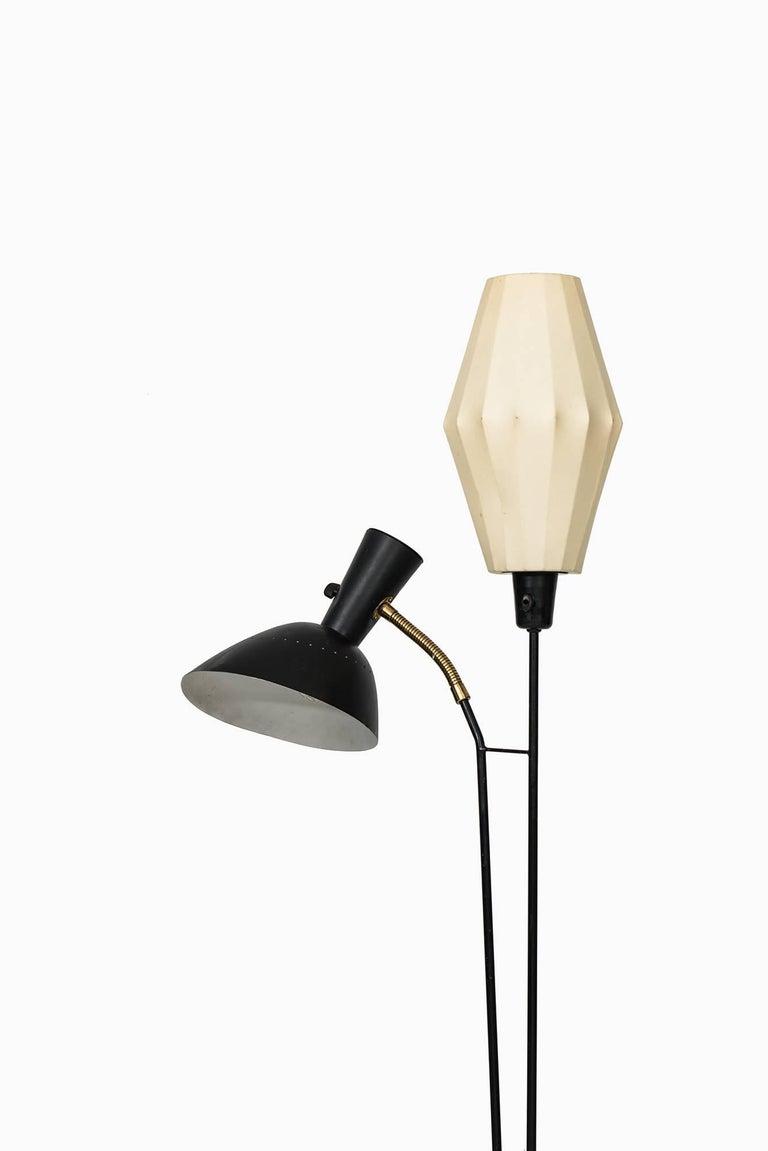 Swedish Hans Bergström Floor Lamp by Ateljé Lyktan in Sweden For Sale