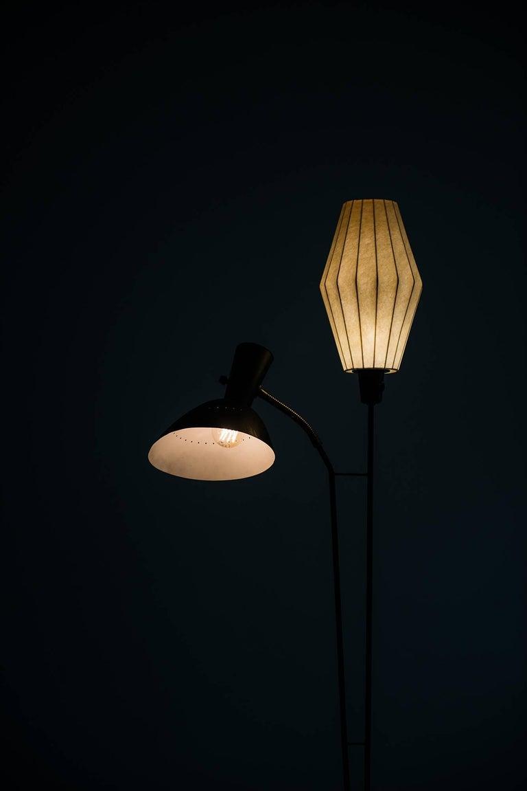 Mid-20th Century Hans Bergström Floor Lamp by Ateljé Lyktan in Sweden For Sale
