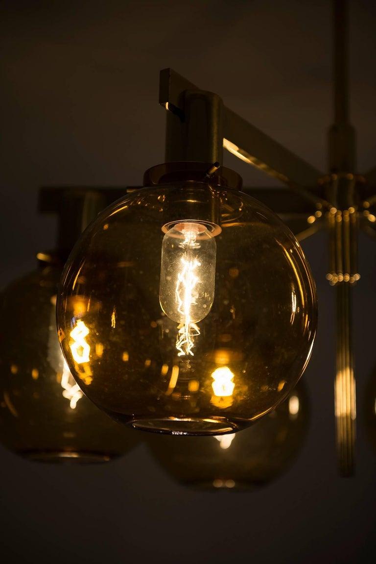 Hans-Agne Jakobsson Ceiling Lamp Model T-348/6 by Hans-Agne Jakobsson AB For Sale 2