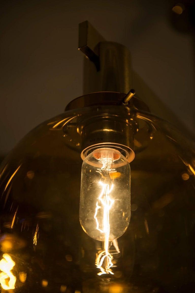 Hans-Agne Jakobsson Ceiling Lamp Model T-348/6 by Hans-Agne Jakobsson AB For Sale 3