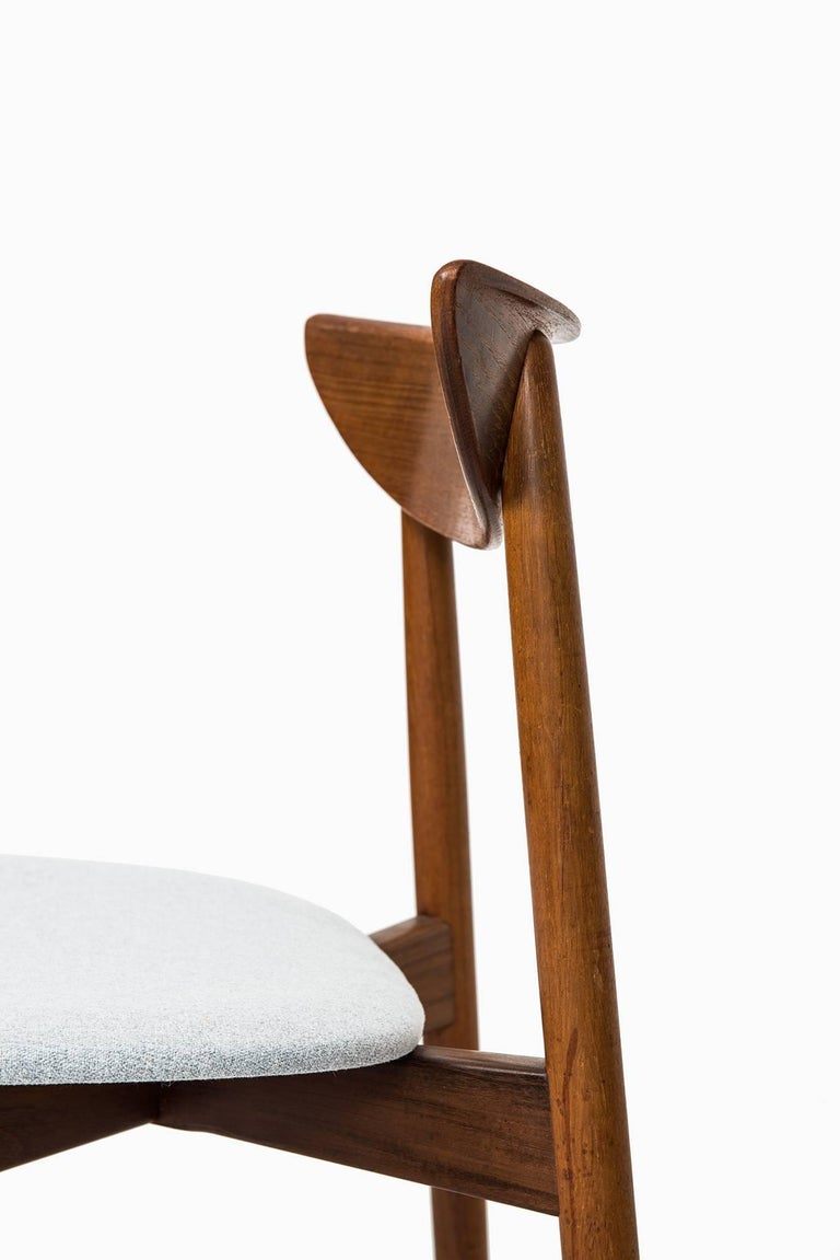Mid-20th Century Harry Østergaard Dining Chairs by Randers Møbelfabrik in Denmark For Sale