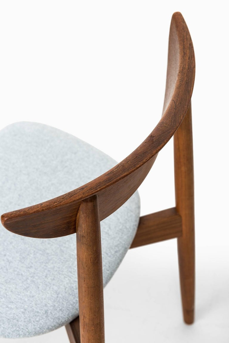 Fabric Harry Østergaard Dining Chairs by Randers Møbelfabrik in Denmark For Sale