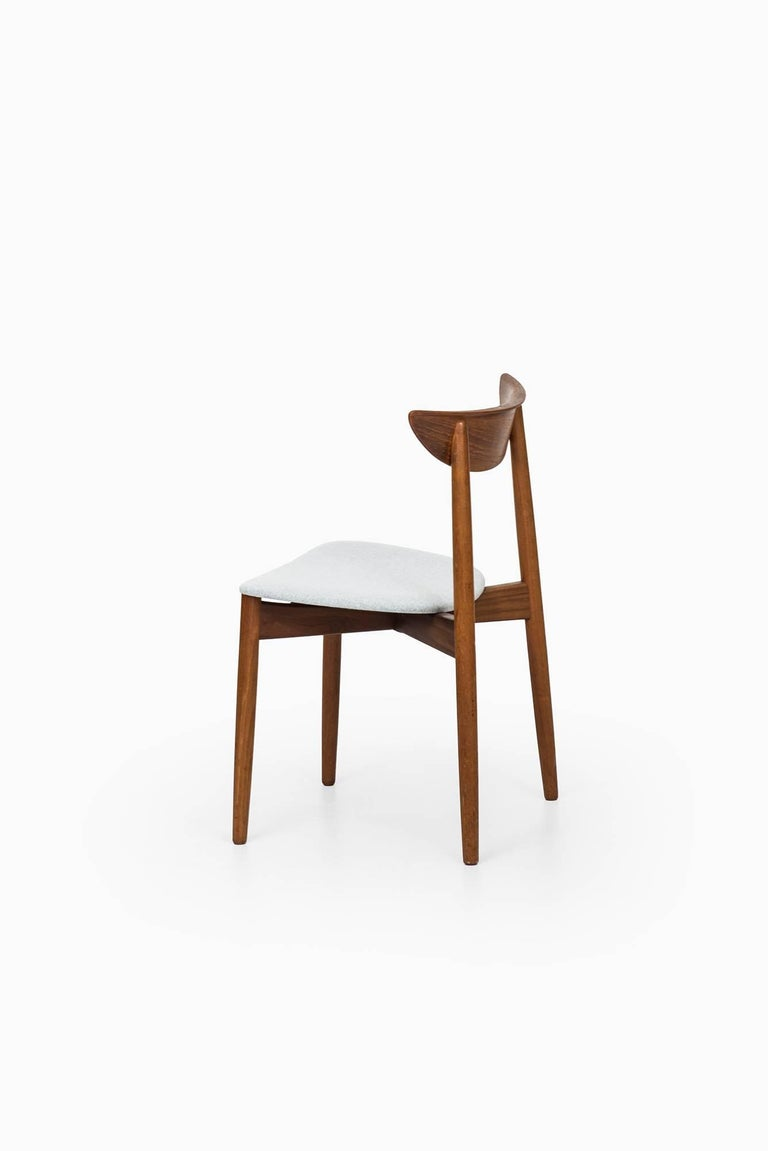 Harry Østergaard Dining Chairs by Randers Møbelfabrik in Denmark For Sale 2