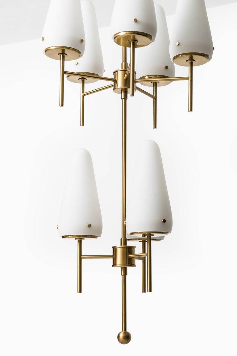 Swedish Hans-Agne Jakobsson Ceiling Lamp Model T-58/8 For Sale