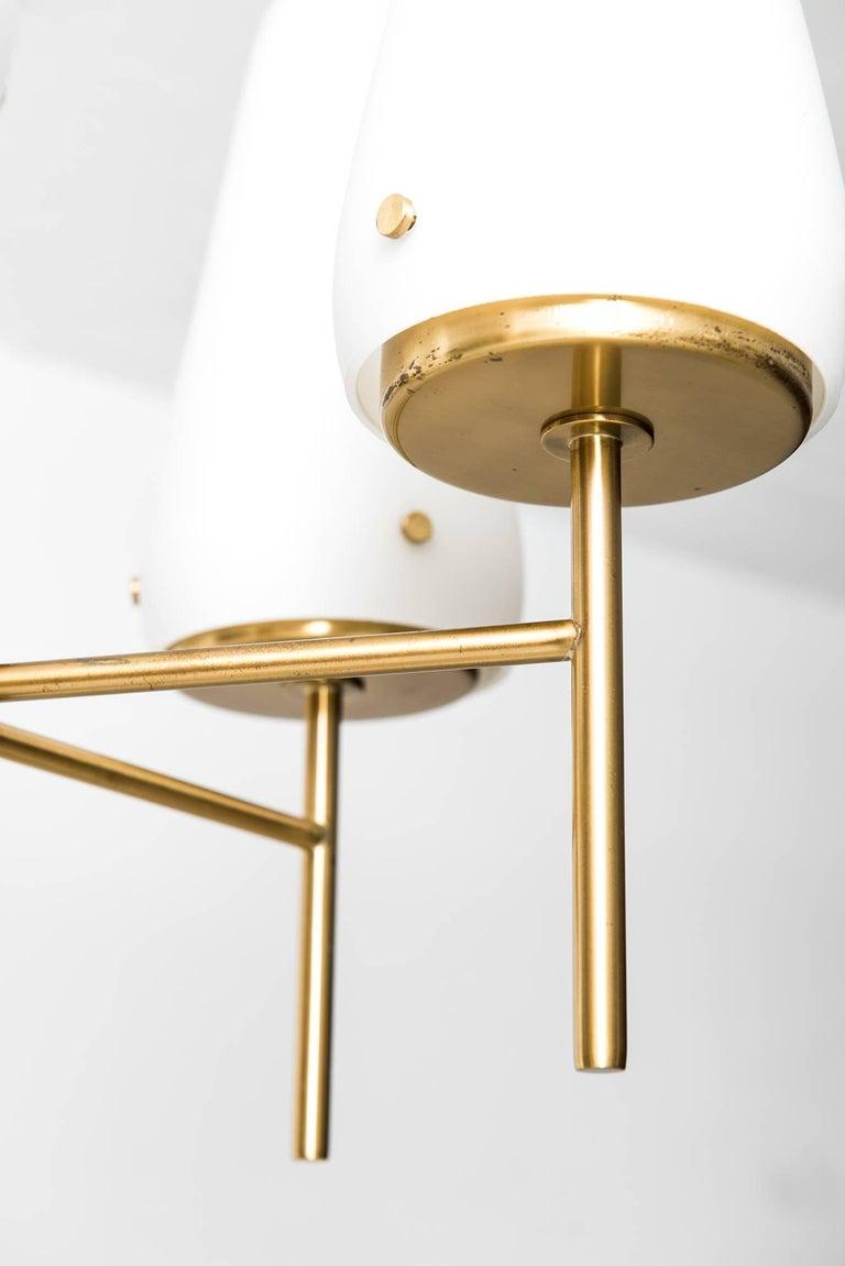 Scandinavian Modern Hans-Agne Jakobsson Ceiling Lamp Model T-58/8 For Sale