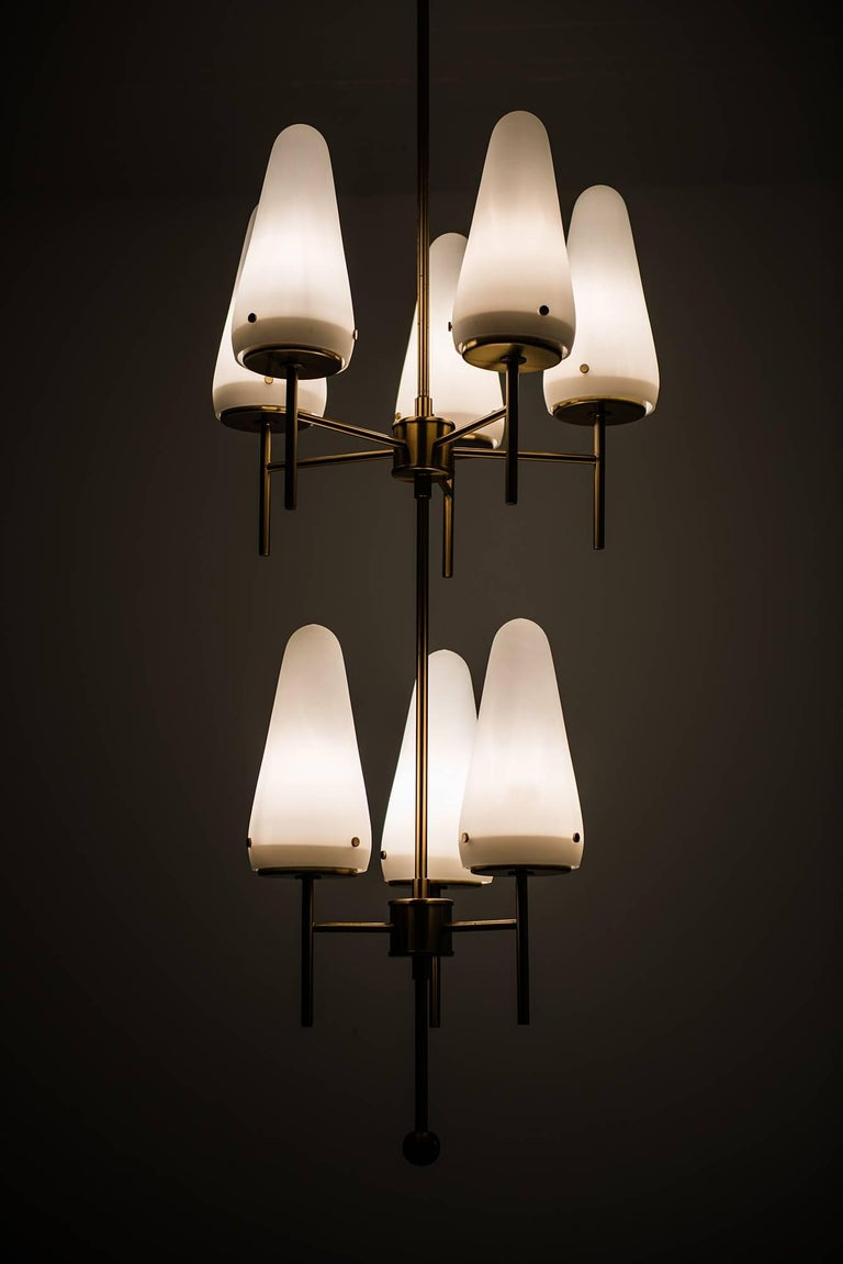 Mid-20th Century Hans-Agne Jakobsson Ceiling Lamp Model T-58/8 For Sale