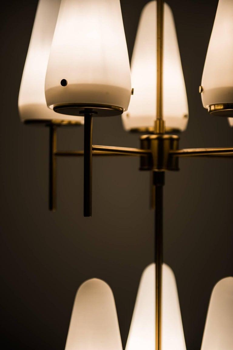 Opaline Glass Hans-Agne Jakobsson Ceiling Lamp Model T-58/8 For Sale