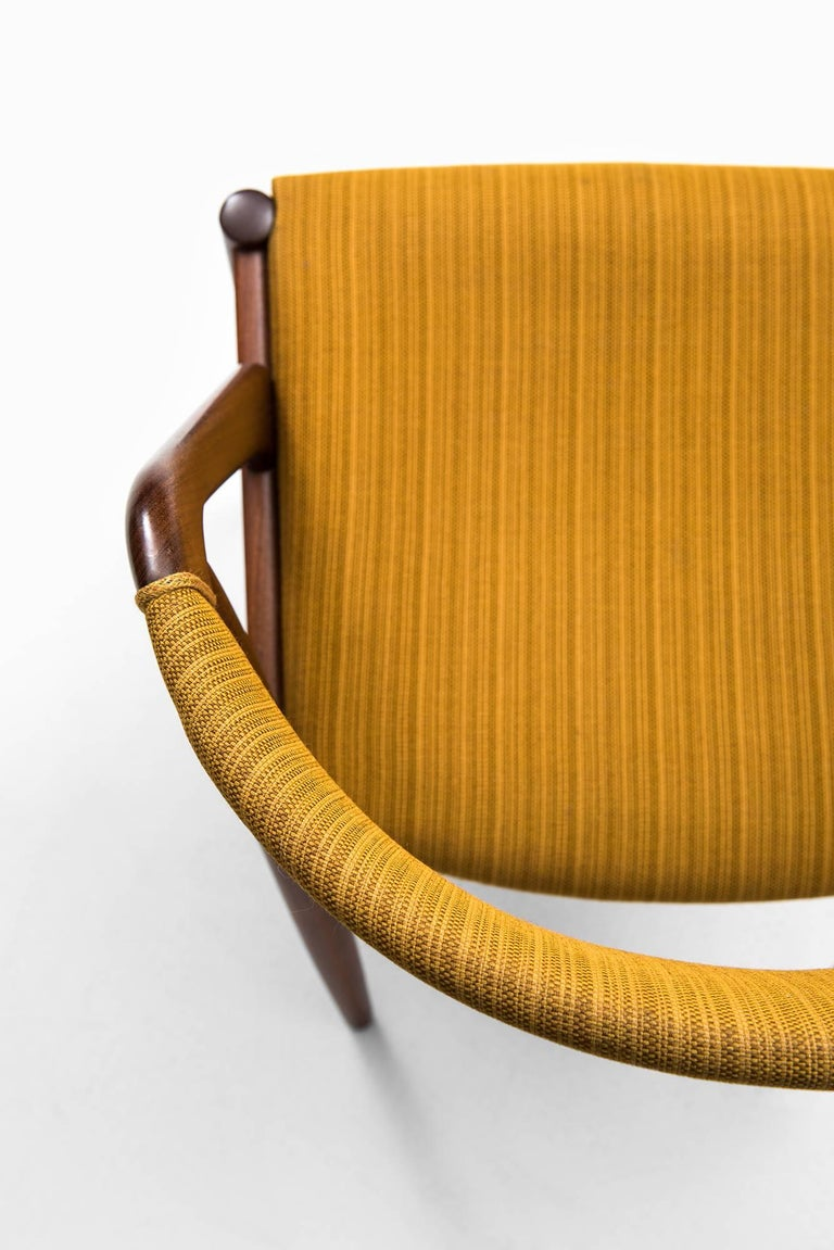Kai Kristiansen Dining Chairs by Schou Andersen in Denmark For Sale 2