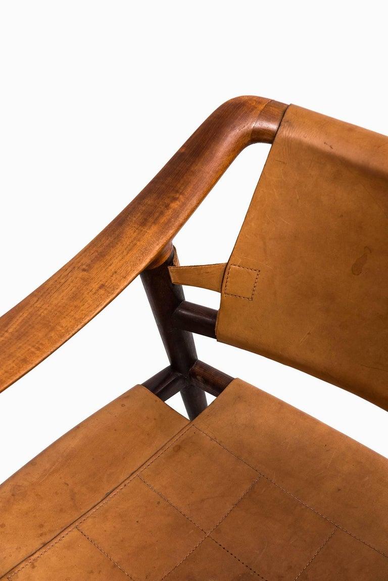 Norwegian Rolf Rastad & Adolf Relling Bambi Easy Chairs by Gustav Bahus in Norway For Sale