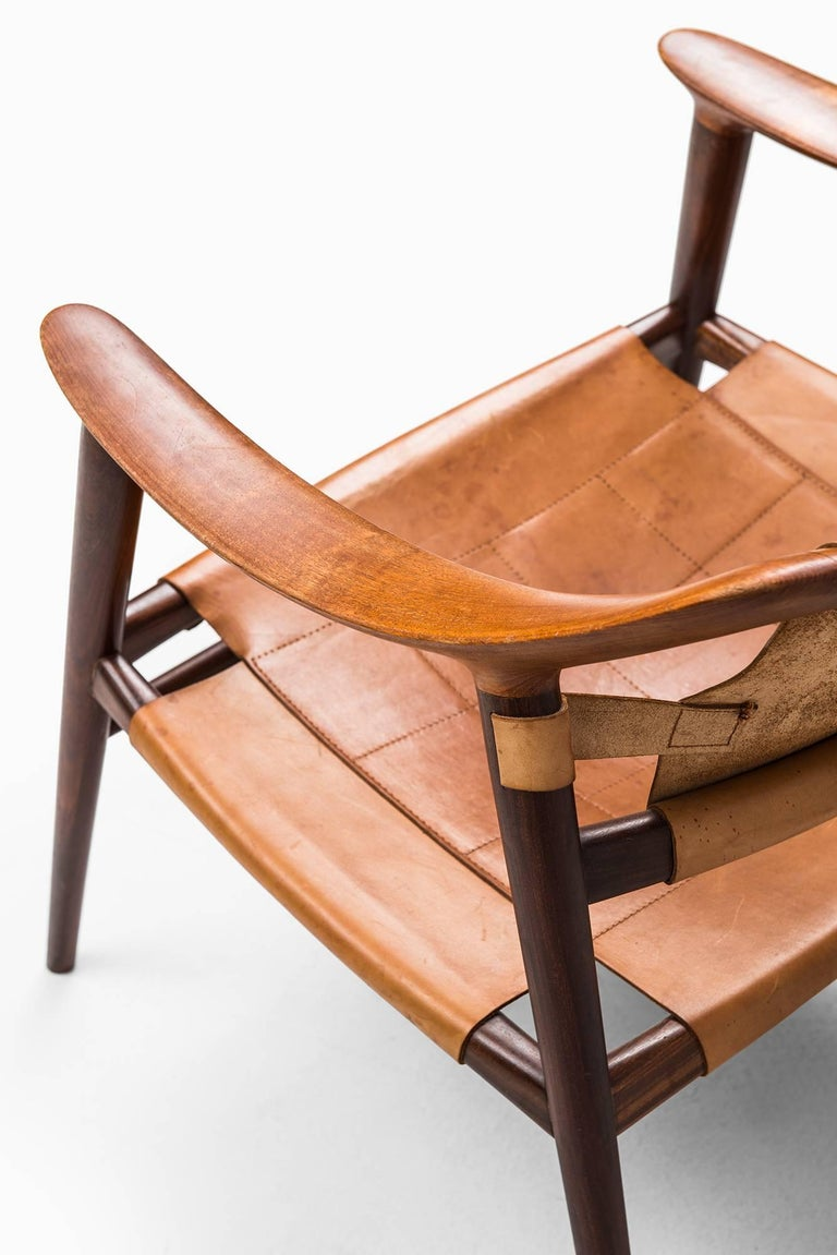 Rolf Rastad & Adolf Relling Bambi Easy Chairs by Gustav Bahus in Norway For Sale 2