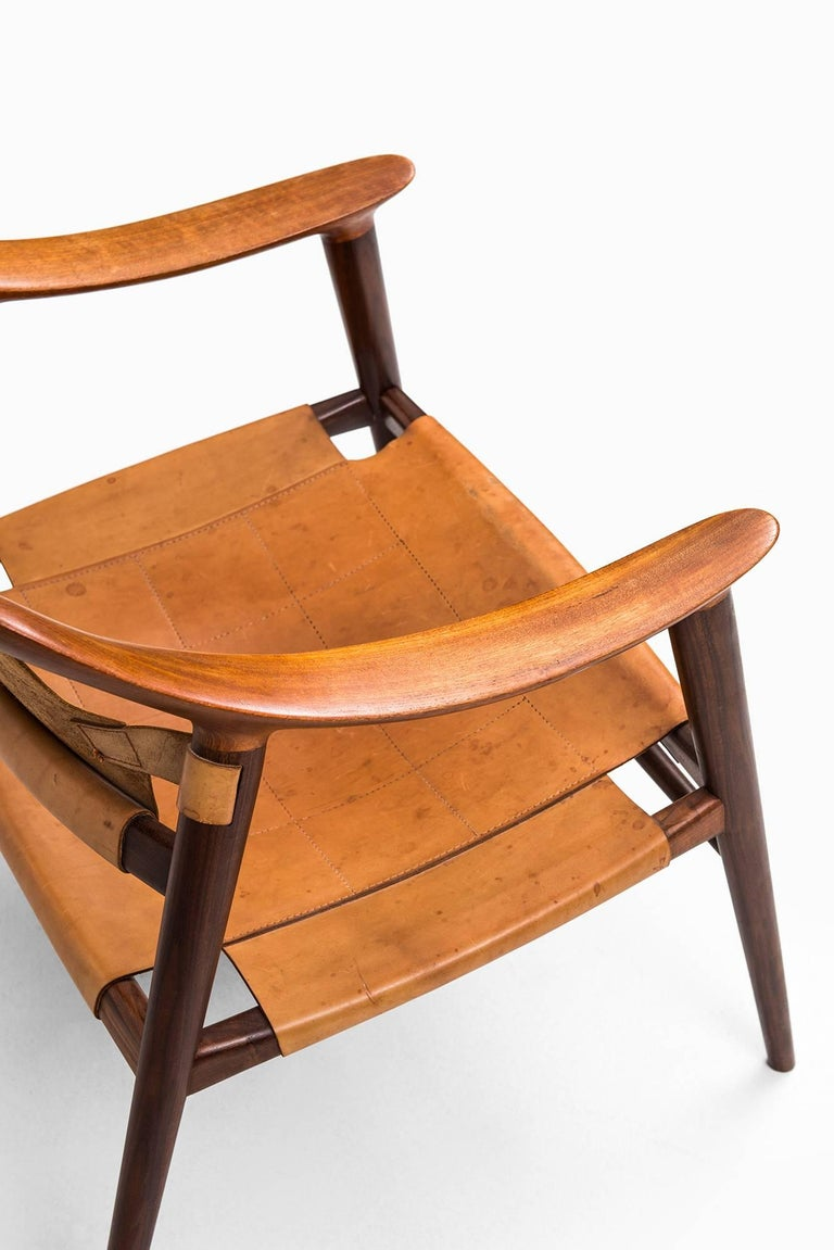 Rolf Rastad & Adolf Relling Bambi Easy Chairs by Gustav Bahus in Norway For Sale 3