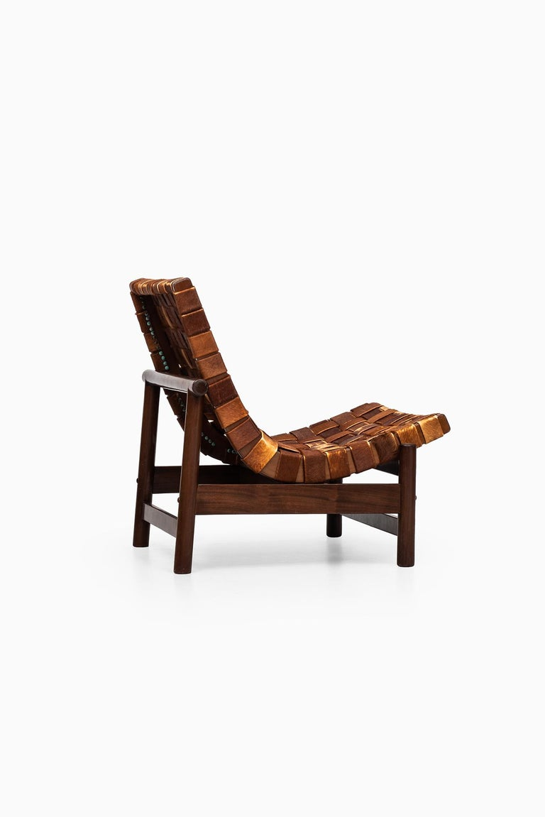 Cuban Gonzalo Cordoba Easy Chair Model Guama by Dujo in Cuba For Sale