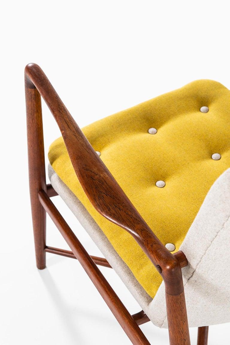 Mid-20th Century Finn Juhl Easy Chairs Model BO59 by Bovirke in Denmark For Sale