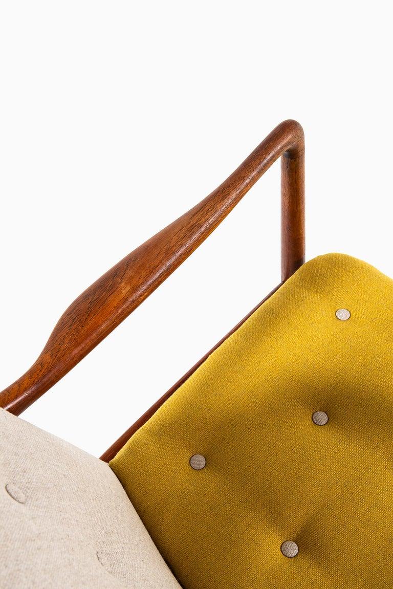 Finn Juhl Easy Chairs Model BO59 by Bovirke in Denmark For Sale 4