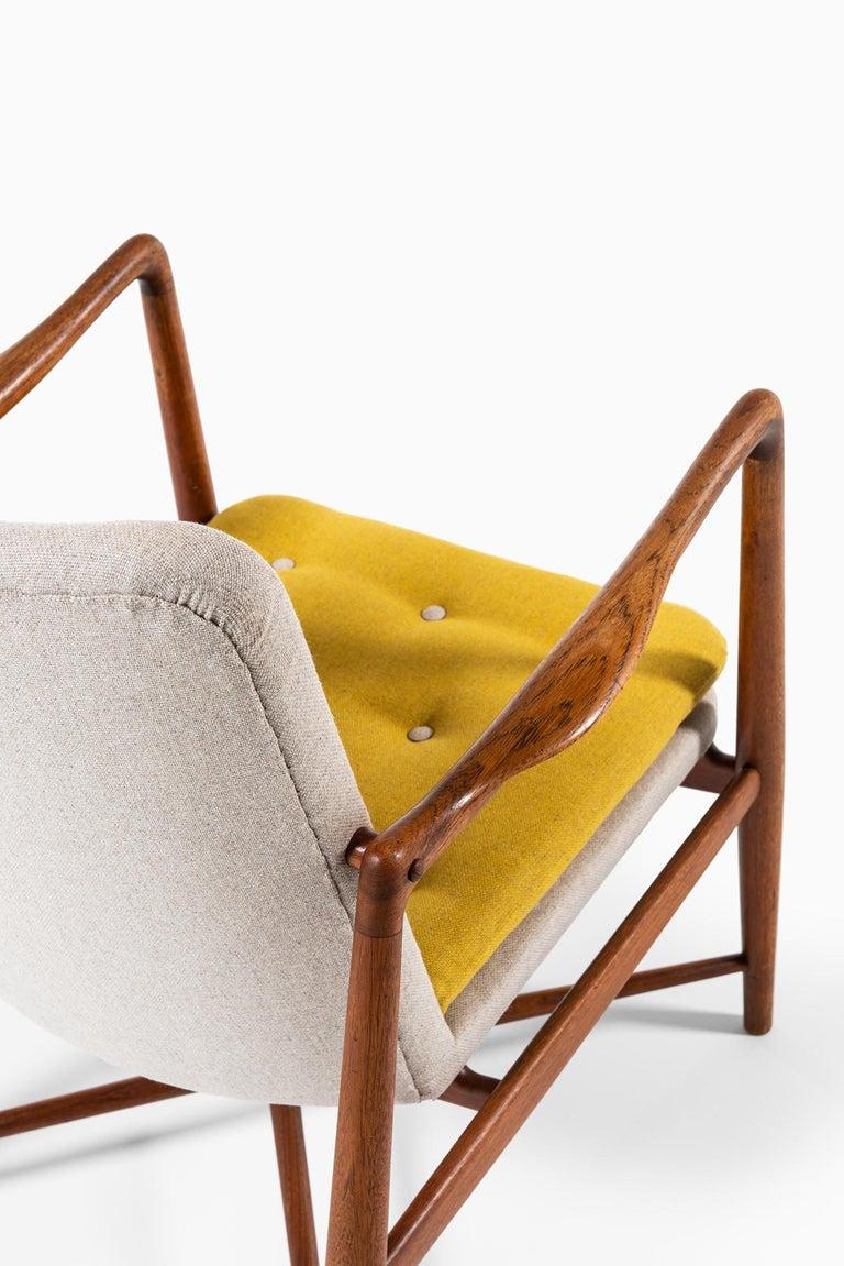 Finn Juhl Easy Chairs Model BO59 by Bovirke in Denmark For Sale 5