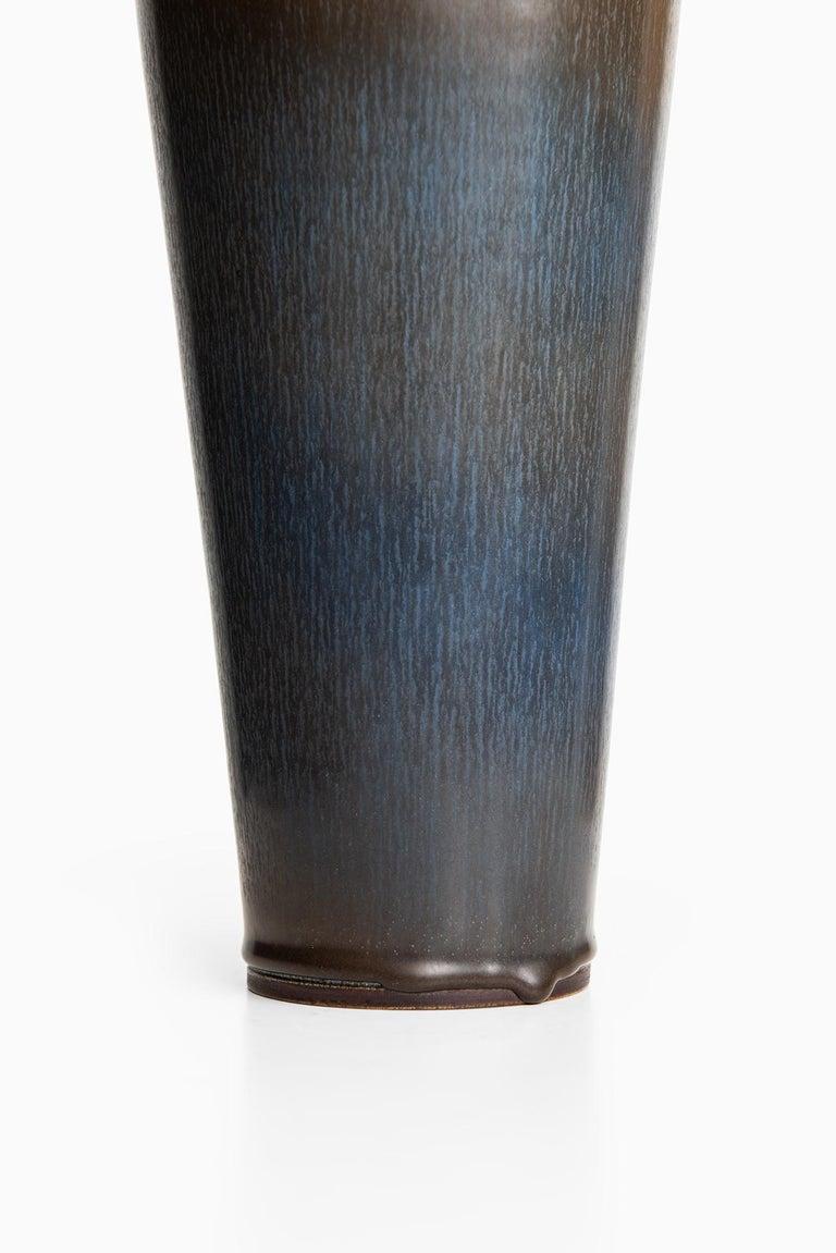 Berndt Friberg Large Ceramic Vase by Gustavsberg in Sweden In Excellent Condition For Sale In Malmo, SE