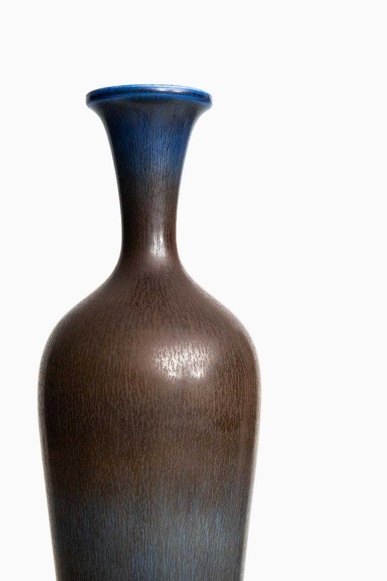 Berndt Friberg Large Ceramic Vase by Gustavsberg in Sweden For Sale 2