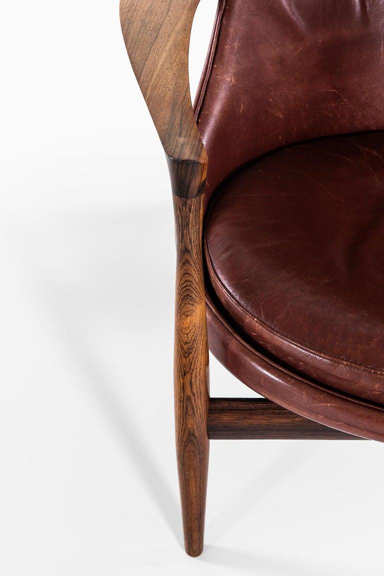 Danish Ib Kofod-Larsen Elizabeth Easy Chairs by Christensen & Larsen in Denmark For Sale