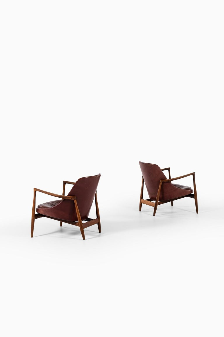 Ib Kofod-Larsen Elizabeth Easy Chairs by Christensen & Larsen in Denmark For Sale 3