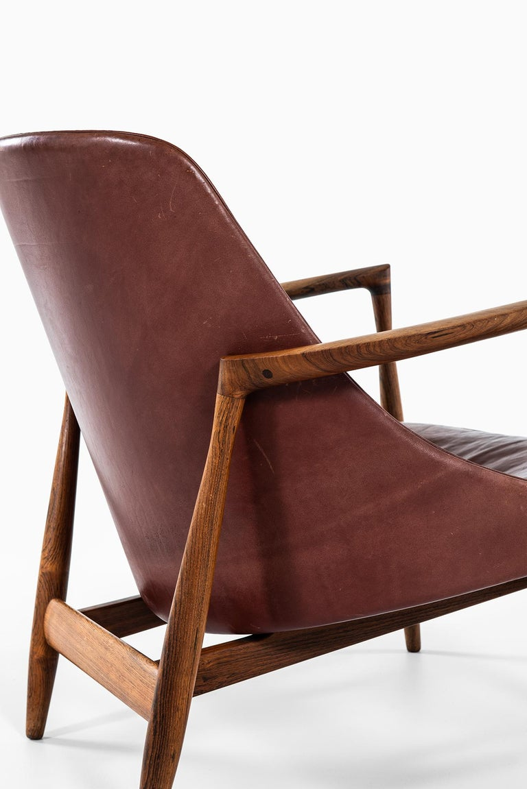 Ib Kofod-Larsen Elizabeth Easy Chairs by Christensen & Larsen in Denmark For Sale 5
