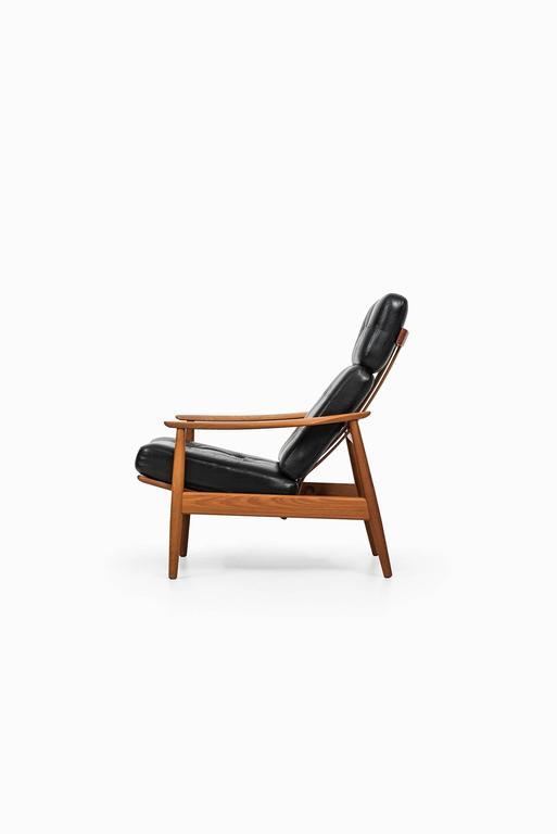 Scandinavian Modern Arne Vodder Reclining Chair Model FD-164 by Cado in Denmark For Sale