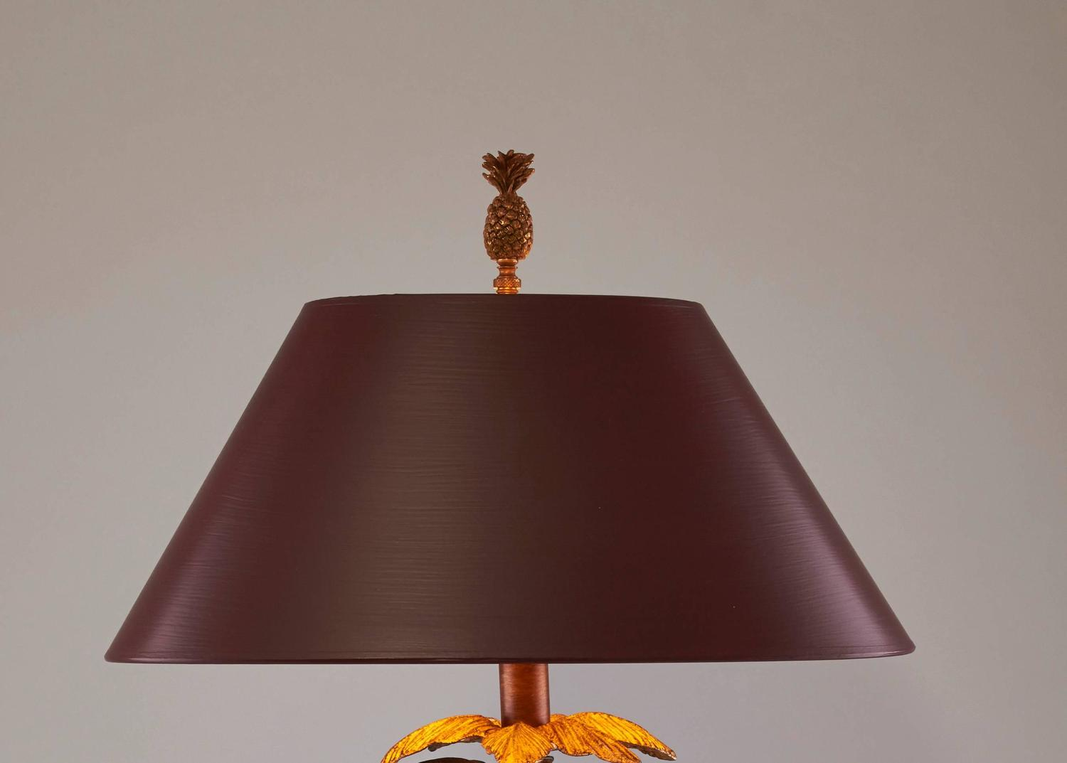 Pair Of Frederick Cooper Monkey Table Lamp For Sale At 1stdibs