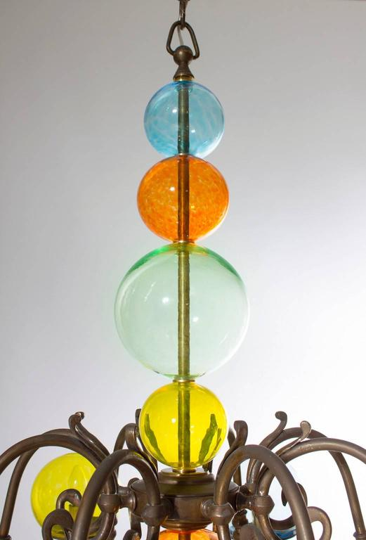 Italian Murano Chandelier Circa From 1960s For Sale At