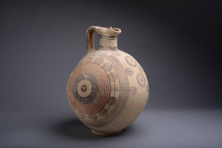 Ancient Greek Cypriot Geometric Amphora 800 Bc At 1stdibs