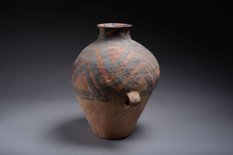 Ancient Chinese Neolithic Yangshao Culture Pottery Amphora 3000 Bc At 1stdibs