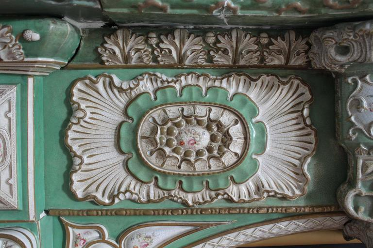 Marked Mason S Ironstone Chimneypiece For Sale At 1stdibs